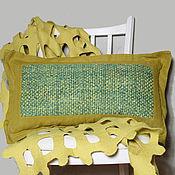 Для дома и интерьера ручной работы. Ярмарка Мастеров - ручная работа Подушка длинная. Handmade.