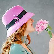"""Шляпка """"Фламинго"""""""