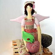 Куклы и игрушки ручной работы. Ярмарка Мастеров - ручная работа Тильда ангел садовница. Handmade.