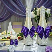 Свадебный набор для свадьбы в сиреневых тонах