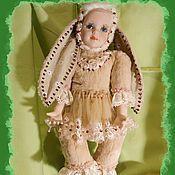 Куклы и игрушки ручной работы. Ярмарка Мастеров - ручная работа Тедди- долл Нюся. Handmade.