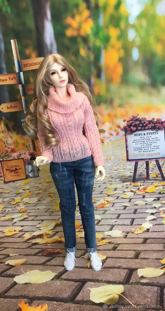 Свитер для БЖД куклы 62 см, Шарнирная кукла, Москва,  Фото №1