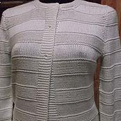 """Одежда ручной работы. Ярмарка Мастеров - ручная работа Жакет по мотивам """"Dune"""" от Kim Hargreaves. Handmade."""