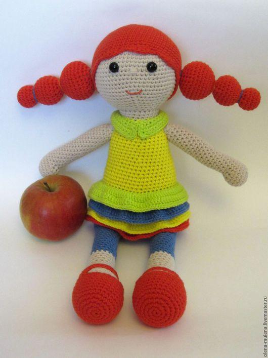 Человечки ручной работы. Ярмарка Мастеров - ручная работа. Купить Кукла Марфа. Handmade. Комбинированный, кукла в подарок, яркая кукла