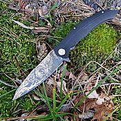 Ножи ручной работы. Ярмарка Мастеров - ручная работа Нож складной Лев. Handmade.