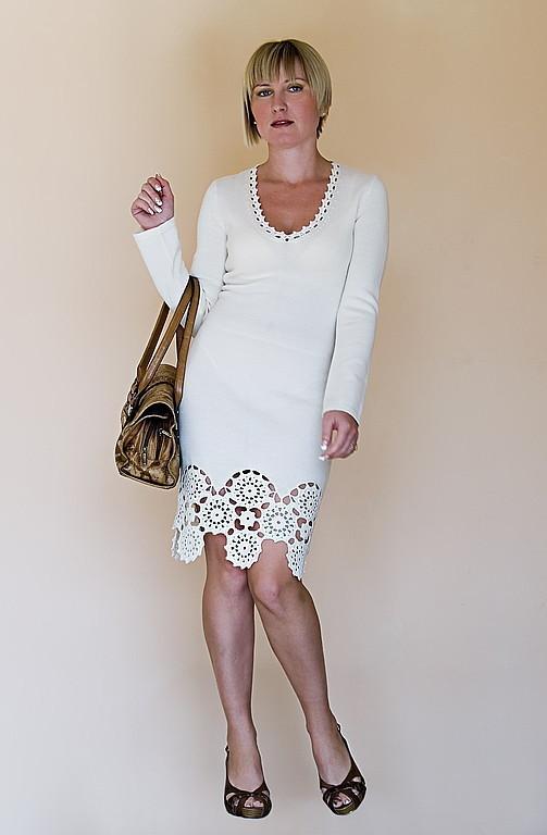 Платья ручной работы. Ярмарка Мастеров - ручная работа. Купить Платье вязаное 4342. Handmade. Платье, вязаное платье крючком