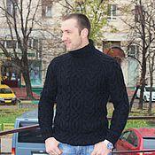 """Одежда ручной работы. Ярмарка Мастеров - ручная работа свитер """"Fishermen""""ч. Handmade."""