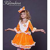 Работы для детей, ручной работы. Ярмарка Мастеров - ручная работа карнавальный костюм лисы, лисички-62. Handmade.