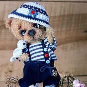 Куклы и игрушки ручной работы. Ярмарка Мастеров - ручная работа Мишка Антошка. Handmade.