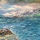 Абстракция ручной работы. Ярмарка Мастеров - ручная работа. Купить своенравная волна. Handmade. Синий, подарок на день рождения