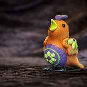 Куклы и игрушки ручной работы. Ярмарка Мастеров - ручная работа Птичка-невеличка. Handmade.
