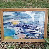 Картины и панно handmade. Livemaster - original item Windmill-element of wind and water.. Handmade.