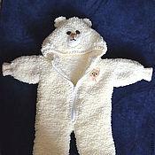 """Работы для детей, ручной работы. Ярмарка Мастеров - ручная работа Комплект для новорожденного """"Медвежонок"""". Handmade."""