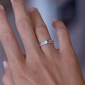 Свадебный салон ручной работы. Ярмарка Мастеров - ручная работа Помолвочное кольцо Топаз. Handmade.