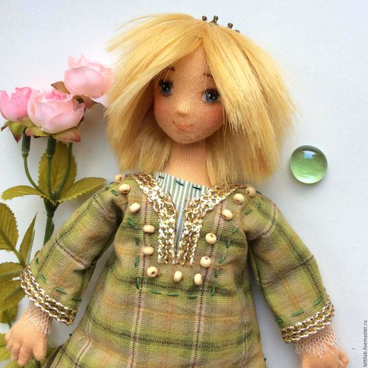 Коллекционные куклы ручной работы. Ярмарка Мастеров - ручная работа. Купить Принц Prince Charming (Green). Handmade. Зеленый, мальчик