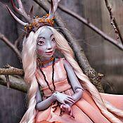 Шарнирная кукла ручной работы. Ярмарка Мастеров - ручная работа Арика шарнирная кукла bjd (полиуретан). Handmade.