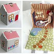Куклы и игрушки ручной работы. Ярмарка Мастеров - ручная работа Кукольный домик.. Handmade.