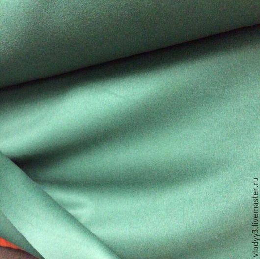 Шитье ручной работы. Ярмарка Мастеров - ручная работа. Купить Кашемир плательно костюмный бирюза. Handmade. Мятный, кашемир