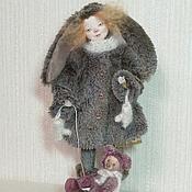 """Куклы и пупсы ручной работы. Ярмарка Мастеров - ручная работа """"Зайчуля"""". Handmade."""
