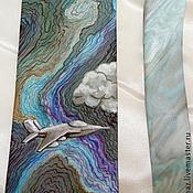 Аксессуары handmade. Livemaster - original item The mens silk tie Fighter. Handmade.