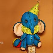 Куклы и игрушки ручной работы. Ярмарка Мастеров - ручная работа Слоник. Куда уехал цирк.... Handmade.