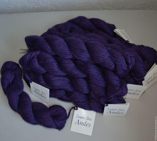 Вязание ручной работы. Ярмарка Мастеров - ручная работа. Купить Andes Debbie Bliss (Англия) пряжа, альпака с шелком. Handmade.