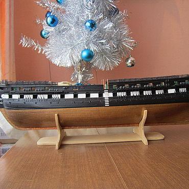 Сувениры и подарки ручной работы. Ярмарка Мастеров - ручная работа Модели: Модель USS Constitution. Handmade.