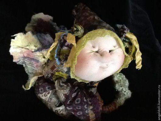 """Коллекционные куклы ручной работы. Ярмарка Мастеров - ручная работа. Купить кукла"""" всегда рядом"""". Handmade. Бордовый"""