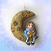 Куклы и игрушки handmade. Livemaster - original item Mini figures and figurines: Angel with a star. Handmade.