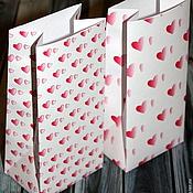 Материалы для творчества ручной работы. Ярмарка Мастеров - ручная работа Упаковочные пакетики ко Дню святого Валентина. Handmade.