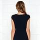 темно синее платье футляр. Офисный стиль