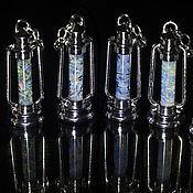 Украшения ручной работы. Ярмарка Мастеров - ручная работа Маленькие нательные фонарики. Handmade.