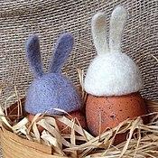Подарки к праздникам ручной работы. Ярмарка Мастеров - ручная работа Шапочки с ушками для пасхальных яиц. Handmade.
