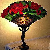 Для дома и интерьера ручной работы. Ярмарка Мастеров - ручная работа Лампа настольная Тиффани. Handmade.