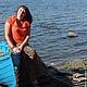 Кофты и свитера ручной работы. Заказать кофточка Коралловый блюз вязаная женская летняя авторская. Евгения  Черевкова (EvgeniaManKi). Ярмарка Мастеров.