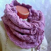 Аксессуары handmade. Livemaster - original item knitted Snood-vest-skirt