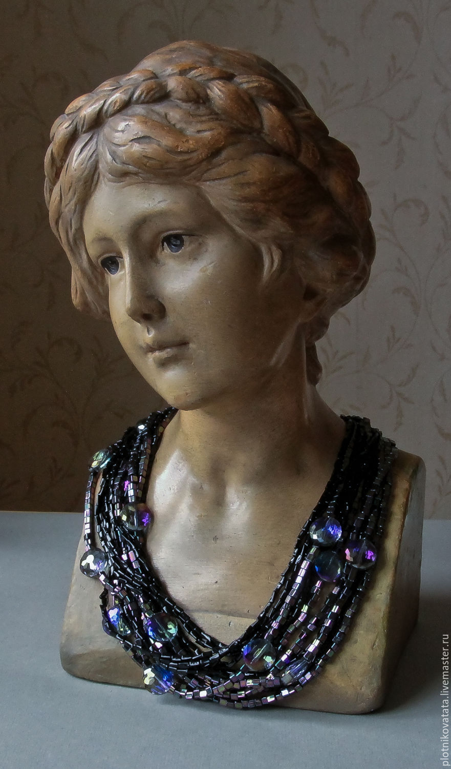Evening necklace and earrings, Necklace, St. Petersburg,  Фото №1