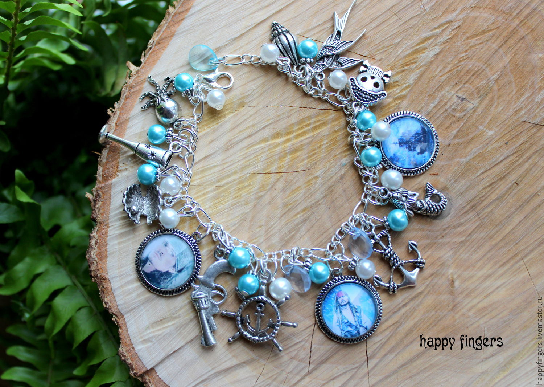 Bracelets Handmade Livemaster Bracelet Pirates Of The Caribbean Sea