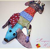 """Мягкие игрушки ручной работы. Ярмарка Мастеров - ручная работа Игрушка - Антистресс """"Такса"""" в ассортименте. Handmade."""