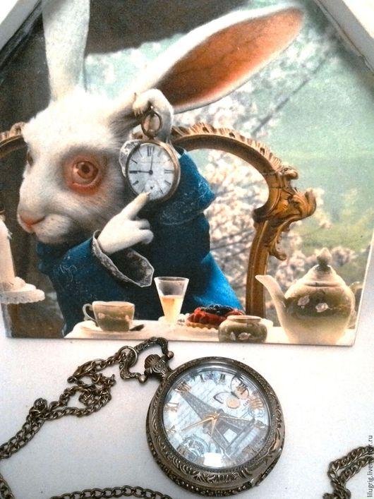 "Часы ручной работы. Ярмарка Мастеров - ручная работа. Купить Часы карманные ""Романтика Парижа"". Handmade. Часы, винтаж"