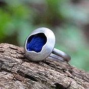 Украшения handmade. Livemaster - original item Dream Lake ring (925 silver, enamel). Handmade.