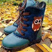 Обувь ручной работы handmade. Livemaster - original item Shoes felted. Handmade.