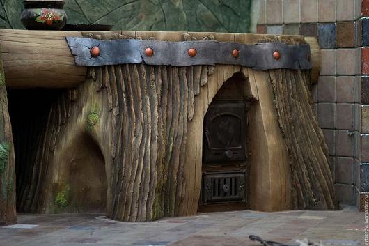 декоративная скульптура из бетона.