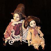 Куклы и игрушки ручной работы. Ярмарка Мастеров - ручная работа будуарная кукла. Handmade.