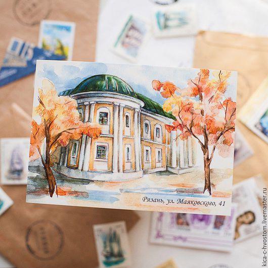 Открытки на все случаи жизни ручной работы. Ярмарка Мастеров - ручная работа. Купить Набор почтовых открыток. Handmade. Комбинированный