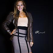 Одежда handmade. Livemaster - original item Leather jacket Armor. Handmade.