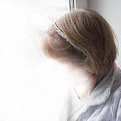 """Украшения ручной работы. Ярмарка Мастеров - ручная работа обруч для волос """"колокольчик в твоих волосах звучит соль-диезом"""". Handmade."""