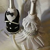 Свадебный салон ручной работы. Ярмарка Мастеров - ручная работа Свадебные костюмы на шампанское Elegance. Handmade.