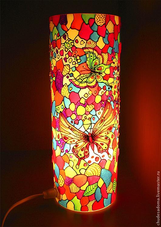 Витражные светильники своими руками фото 122