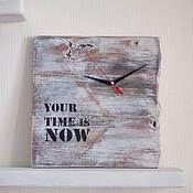 Для дома и интерьера ручной работы. Ярмарка Мастеров - ручная работа Часы интерьерные. Handmade.